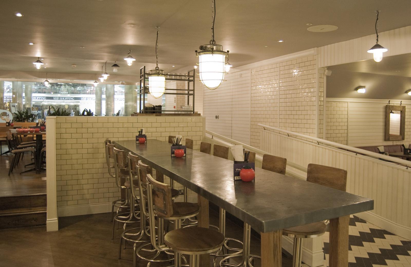 Gourmet Burger Kitchen Canary Wharf Stuart Consultancy Ltd