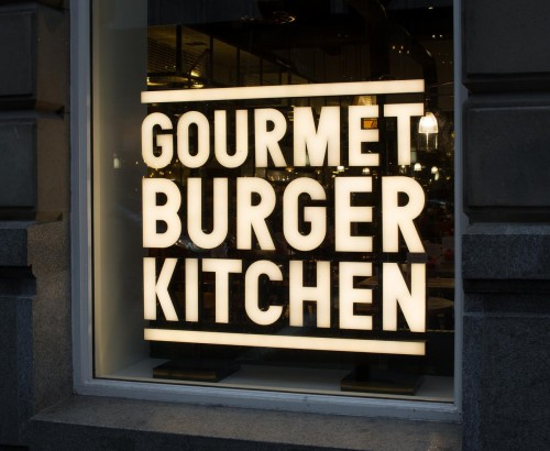 Gourmet Burger Kitchen - Glasgow 1