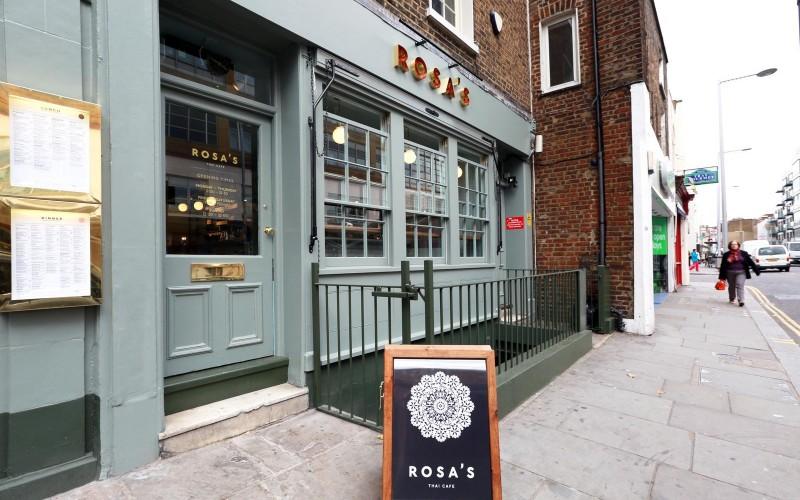 Rosa's Thai Cafe Exterior 1 - Chelsea