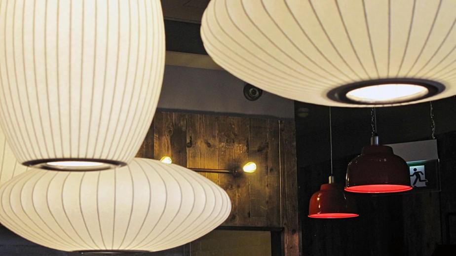 Gourmet Burger Kitchen Aylesbury - Lighting