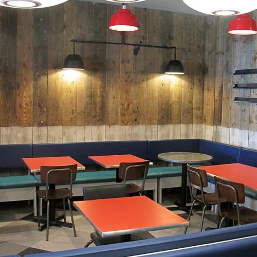 Gourmet Burger Kitchen Aylesbury - Interior