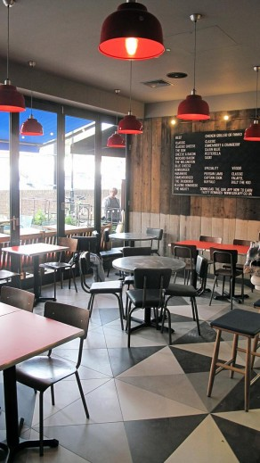 Gourmet Burger Kitchen Aylesbury - Interior