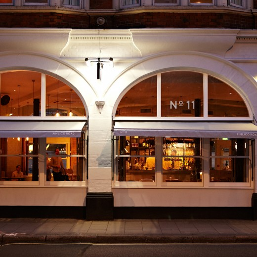 Darwin & Wallace No 11 - Exterior at Night