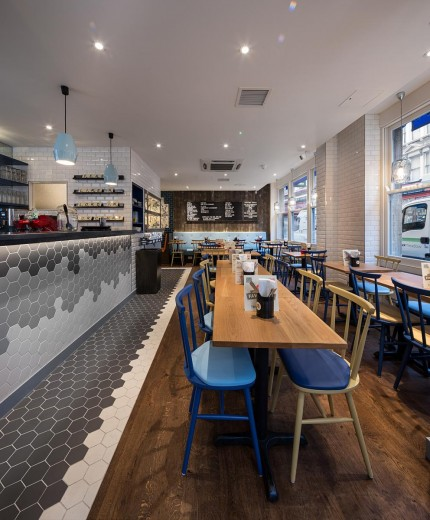Gourmet Burger Kitchen - Earls Court 1
