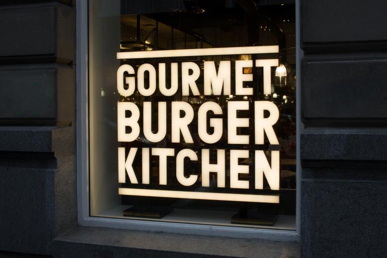 Gourmet Burger Kitchen - Glasgow 1