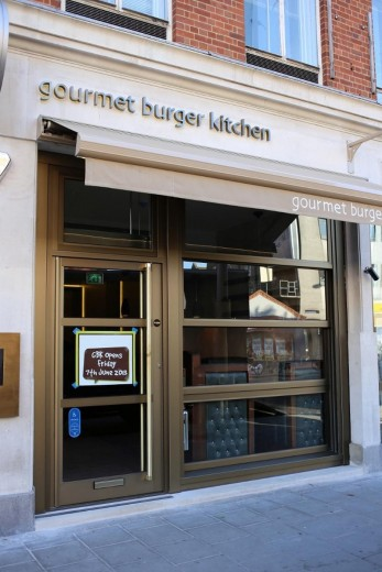 Gourmet Burger Kitchen - Waterloo 1