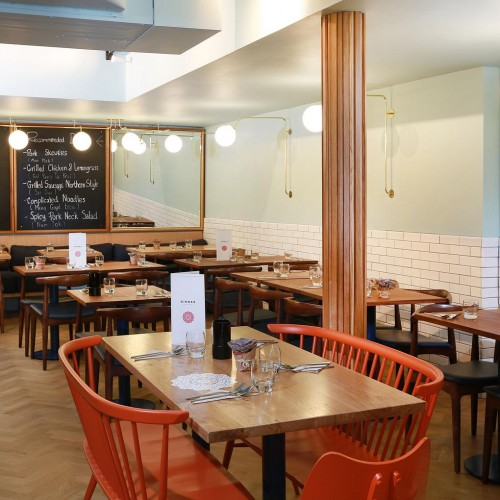 Rosa's Thai Cafe Interior 11 - Chelsea