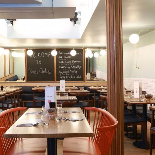 Rosa's Thai Cafe Interior 10 - Chelsea