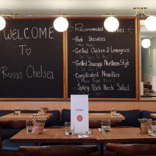 Rosa's Thai Cafe Interior 9 - Chelsea