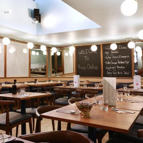 Rosa's Thai Cafe Interior 8 - Chelsea