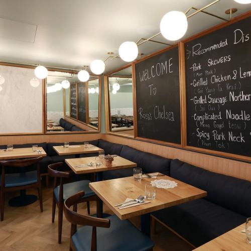 Rosa's Thai Cafe Interior 7 - Chelsea