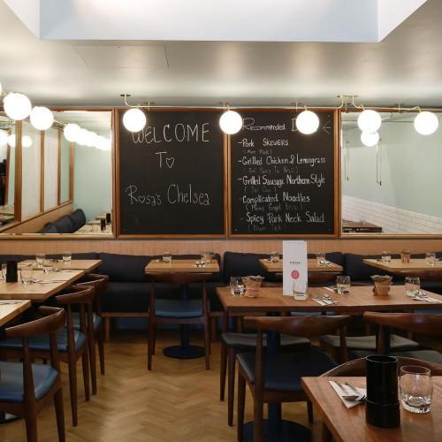 Rosa's Thai Cafe Interior 4 - Chelsea