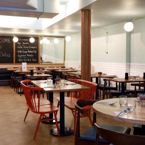 Rosa's Thai Cafe Interior 1 - Chelsea