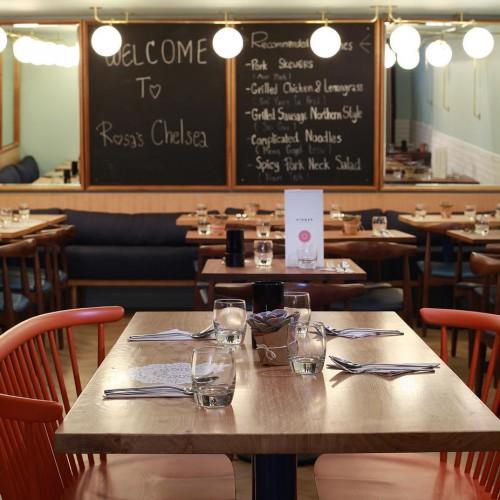 Rosa's Thai Cafe Interior 23 - Chelsea