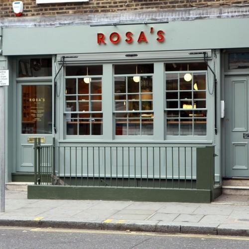 Rosa's Thai Cafe Exterior 3 - Chelsea
