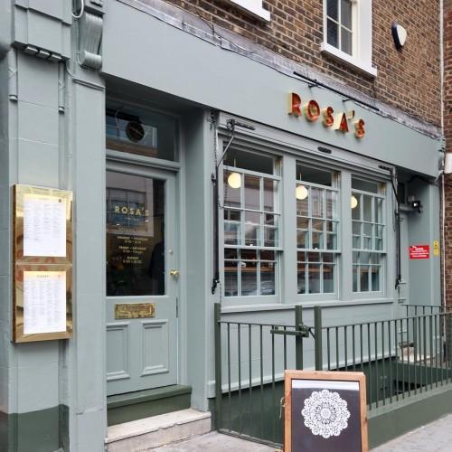 Rosa's Thai Cafe Exterior 2 - Chelsea