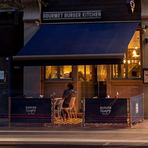Gourmet Burger Kitchen - Baker Street - Exterior