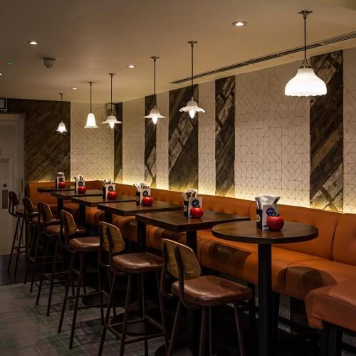Gourmet Burger Kitchen - Baker Street - Dining 2