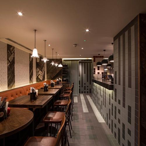 Gourmet Burger Kitchen - Baker Street - Dining 1