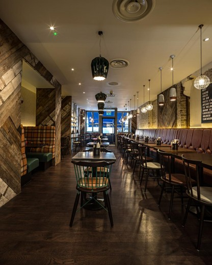 Gourmet Burger Kitchen - Baker Street - Interior 3