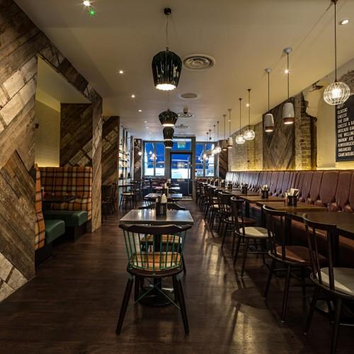 Gourmet Burger Kitchen - Baker Street - Interior 3