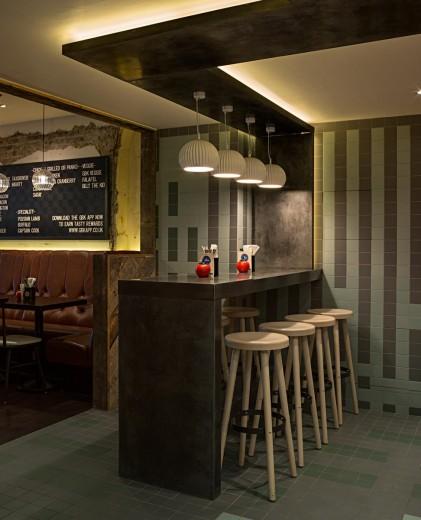 Gourmet Burger Kitchen - Baker Street - Island