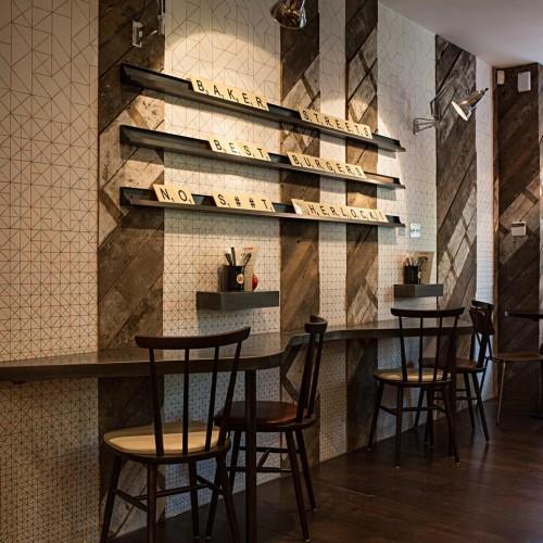 Gourmet Burger Kitchen - Baker Street - Interior 2