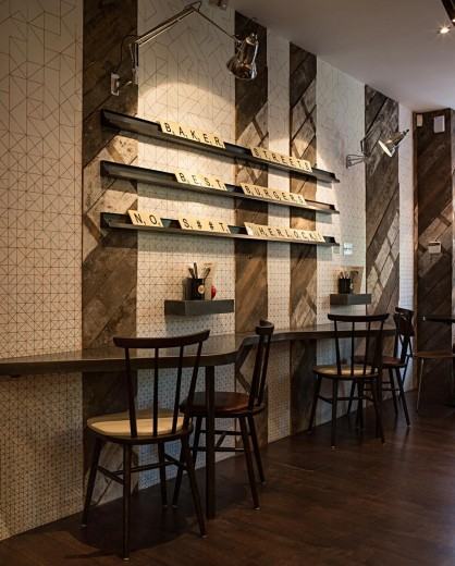 Gourmet Burger Kitchen - Baker Street - Interior 2
