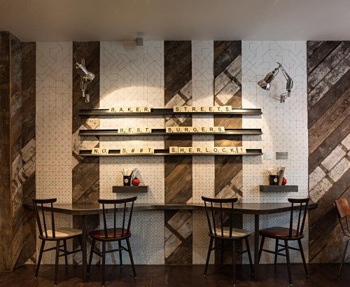 Gourmet Burger Kitchen - Baker Street - Interior