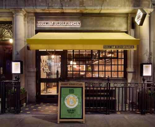 Gourmet Burger Kitchen – Berners Street