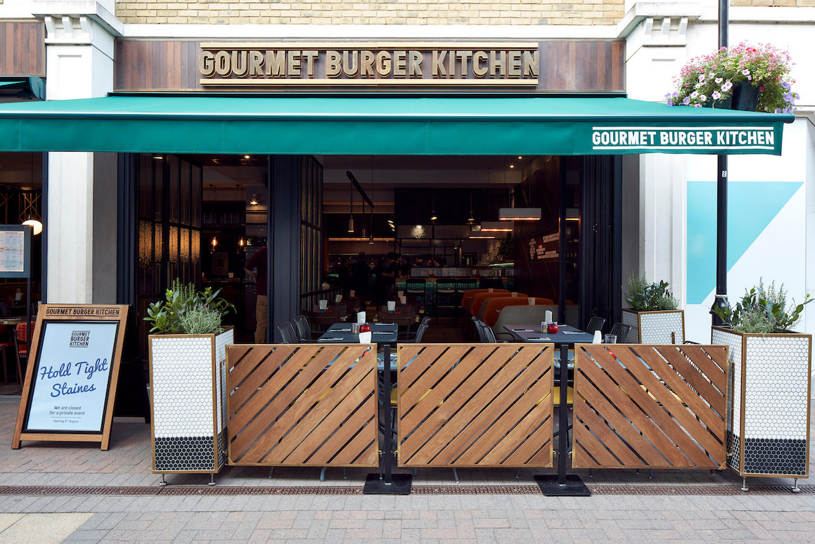 left shows gourmet burger kitchen temple bar place